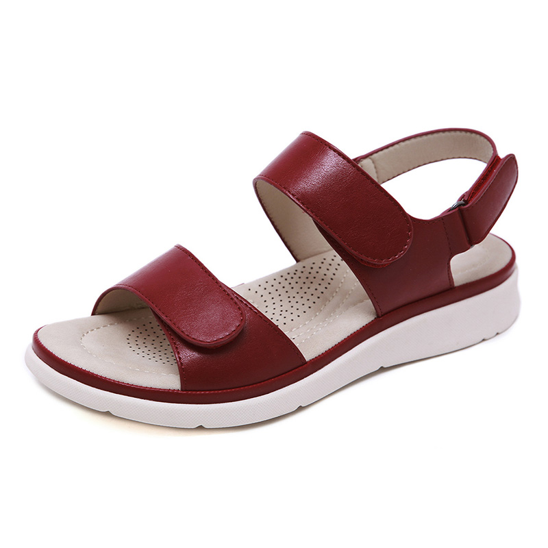 2020 Summer Shoes Women Sandals Holiday Beach Wedges Sandals Women Slippers Soft Comfortable Ladies Summer Slippers A2121 3