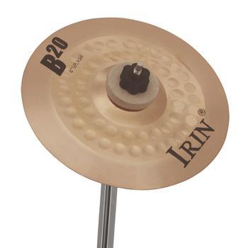 8 Cal B20 talerz profesjonalny przenośny wysokiej jakości precyzyjny brązowy talerz Instrument perkusyjny akcesoria do perkusja tanie i dobre opinie CN (pochodzenie) PEL_0H6X