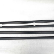 4PC MB669117 MB669118 MB669825 MB669826 Window Weaterstrip Seals Window Mouldings For Montero Pajero V43 V45 V32W V36W V32V V33W