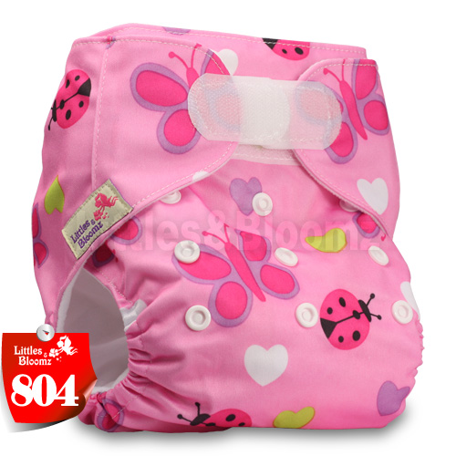 [Littles&Bloomz] Детские Моющиеся Многоразовые, настоящая стандартная ткань, застежка-липучка, карман для подгузников, пеленки, обертывание, подходит для рождения в горшке - Цвет: 804