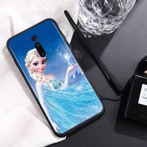 Image 2 - סיליקון כיסוי יפה נסיכת אלזה עבור Xiaomi Redmi 9 9T 9C 8 7 6 פרו 9AT 9A 8A 7A 6A S2 5 5A 4X ללכת טלפון מקרה