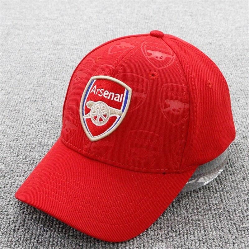 Unisex 2019 Arsenal Soccer/Football Club FC Sun Cool Hat Gold Embroidery Adjustable Baseball Caps