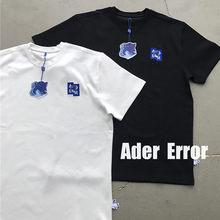 Adererror Maison Kitsune RAPOSA Bordado T-shirt Das Mulheres Dos Homens 1:1 Ader Erro camisa Bordada T Z-ponto T Tops Roupas