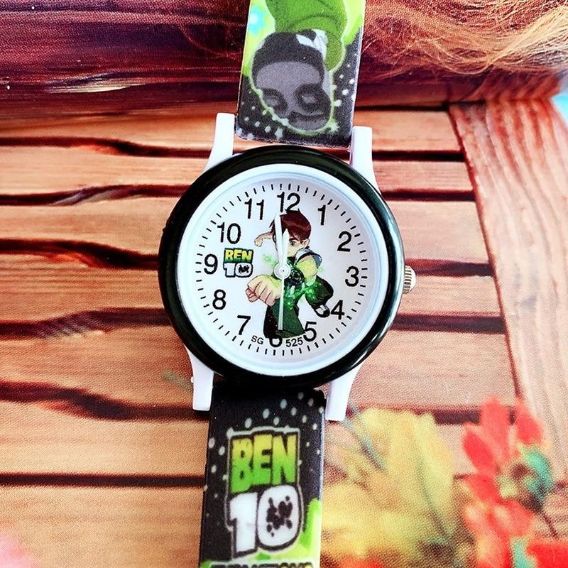 Popular Children Pentium Silicone Printed Quartz Watch Boy Primary School Casual Watch