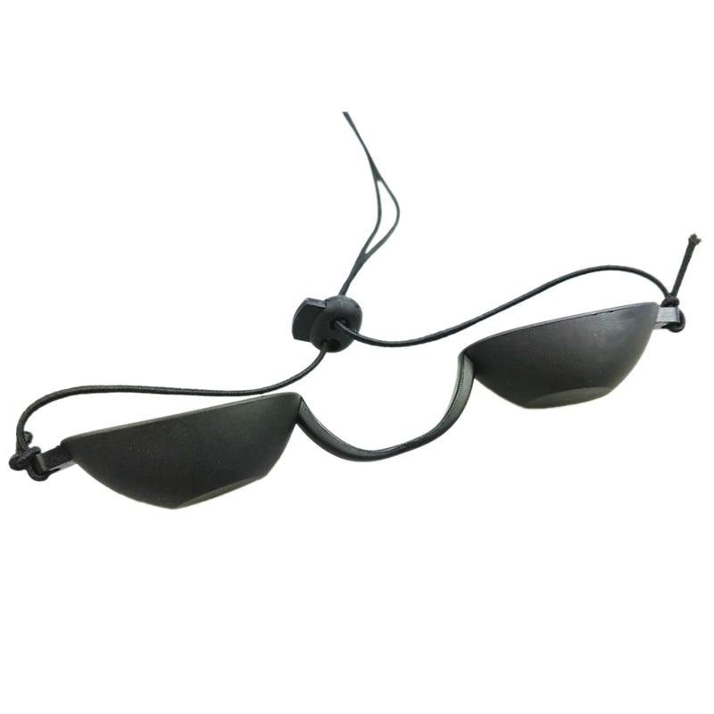 Flexible Uv Eye Protection Indoor & Outdoor Sunbed Tanning Goggles Beach Sunbathing Eyewear