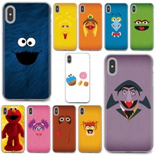 Soft Bag Case Cartoon Sesame Street Frog monkey For iPhone 11 Pro 4 4S 5 5S SE 5C 6 6S 7 8 X 10 XR XS Plus Max For iPod Touch(China)