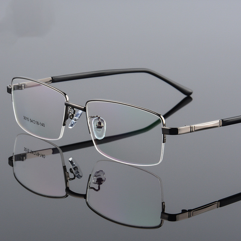 Quality Business Eyewear Titanium Glasses Frame Men Eyeglasses Optical Prescription Eye Glasses Male Spectacle For Man Eyewear