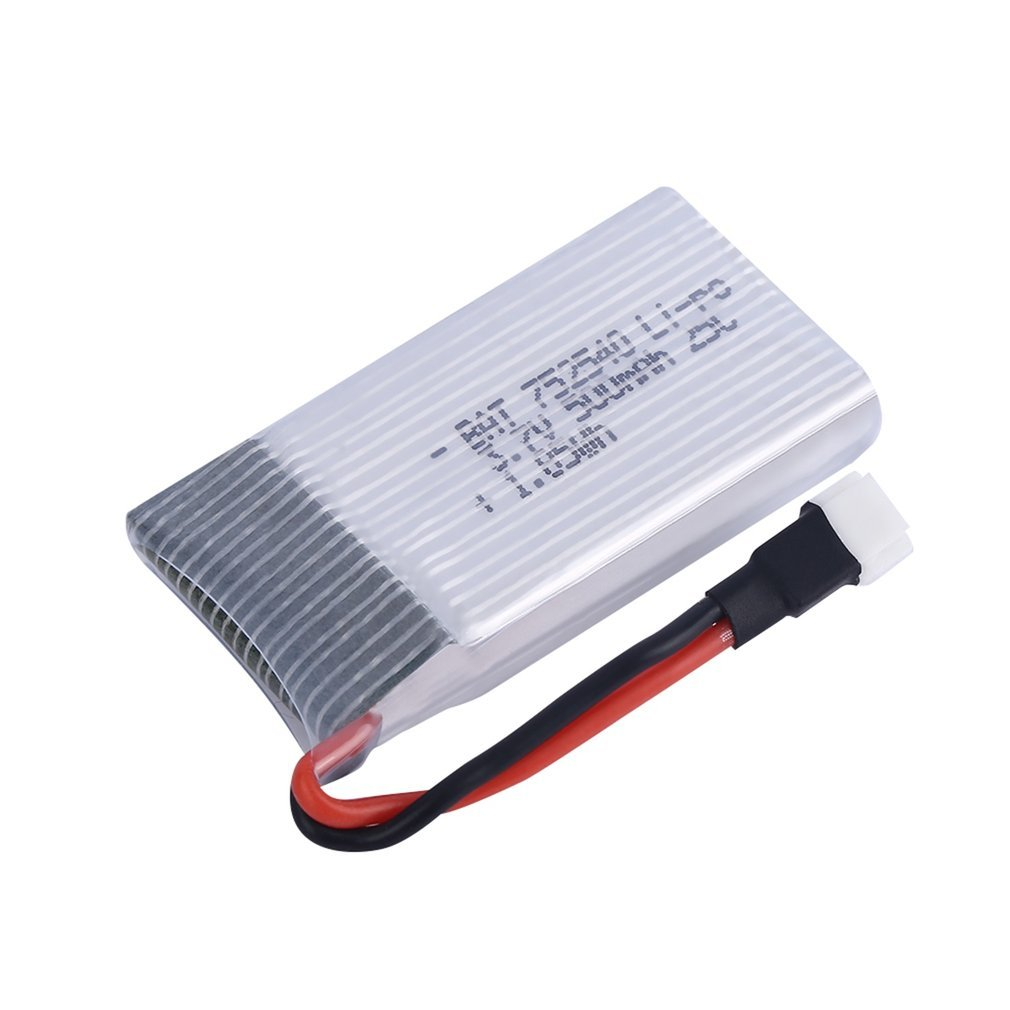 <font><b>3.7V</b></font> <font><b>500mAh</b></font> 25C <font><b>Lipo</b></font> <font><b>Battery</b></font> Spare Parts for Syma X5 X5C H5C X5SC X5A RC Quadcopter image