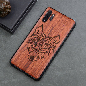 Image 3 - Phone Case For Samsung galaxy note 10 note 9 Original Boogic Wood TPU Case For Samsung s10 s20 note 10 plus Phone Accessories