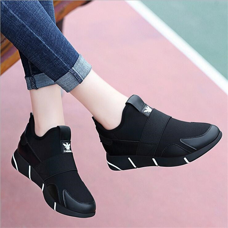 2020Women Sneakers Vulcanized Shoes Ladies Casual Shoes Breathable Walking Mesh Flats Large Size Couple Shoes size 35-40