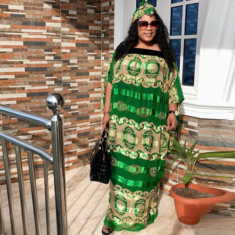 African Dresses For Women 2020 Africa Clothing Muslim Long Dress High Quality Length Fashion African Loose Dress For Lady