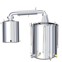 Medium and Small Distiller Distillery 304 Stainless Steel Wine Making Equipment Domestic Liquor Making Equipment Large