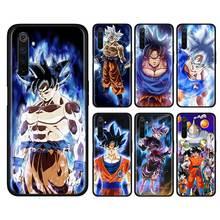 Bags Dragon Ball z goku Silicone Soft Phone Case for Realme X50 Pro 5G X2 5 6 XT C3 5i 6i Narzo 10 10A Shell