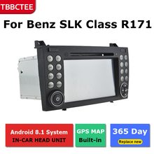 цена на 2 Din Android radio bluetooth GPS Navigation wifi Stereo video For Mercedes Benz SLK Class R171 2004~2011 Car Multimedia Player