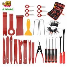 Auto Trim Removal Tools Kit Auto Panel Dash Audio Radio Removal Installer Reparatur Pry Tools Kit Verschluss Entfernung werkzeug