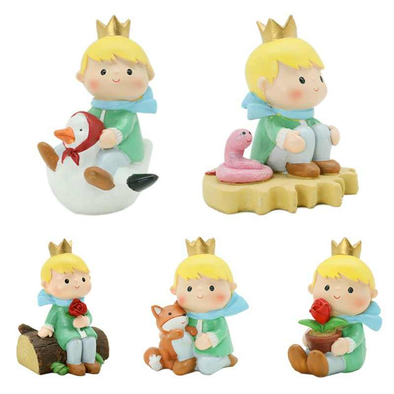 Cartoon Gifts Art Crafts Little Prince Figurine Can Be Decorated On The Desktop/ Pots/ Cake Home Decorations ZA