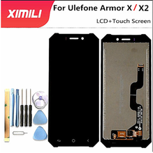 Pantalla LCD Original de 5,5 pulgadas para Ulefone Armor X2, accesorios para teléfono móvil para Ulefone Armor X + herramienta de desmontaje + adhesivo 3M