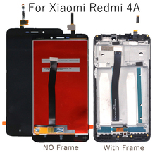 5.0 LCD Display For Xiaomi Redmi 4A  touch screen digitizer component replacement repair parts with frame