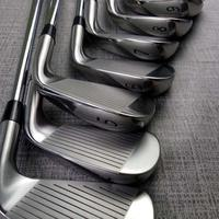 Golf clubs Irons Left hand A3 718 silver Golf Forged Iron 3 9W R/S Steel Shaft With Head Cover Free shipping
