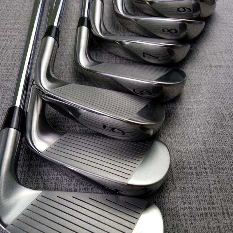 Golf Clubs Irons Left Hand A3-718 Silver Golf Forged Iron 3-9W R/S Steel Shaft With Head Cover Free Shipping