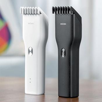 Męska elektryczna maszynka do włosów maszynki do strzyżenia bezprzewodowe maszynki do strzyżenia dla dorosłych profesjonalne maszynki do strzyżenia narożnik Razor Hairdresse XiaoMi ENCHEN tanie i dobre opinie Ceramic cutter head MI-3945
