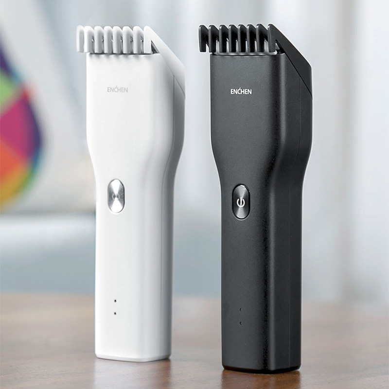 Cordless Clippers Trimmers Corner-Razor Hairdresse Professional Xiaomi Enchen Adult Men's title=