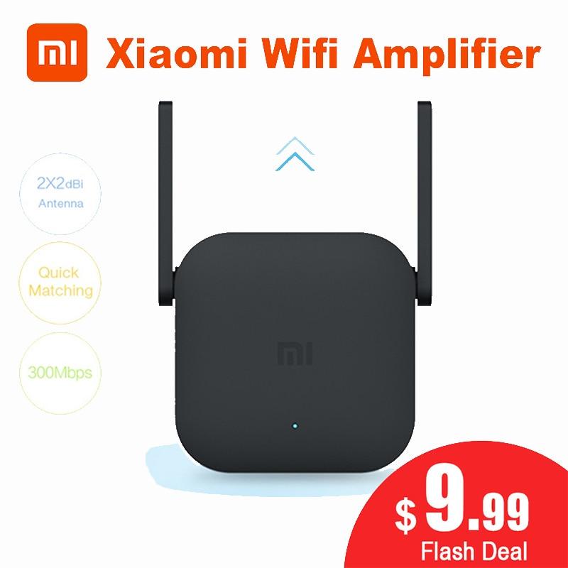 Original Xiao mi Wifi Verstärker Pro Router 300M 2,4G Netzwerk Expander Repeater Roteador 2 Power Antenne für mi router Home Office