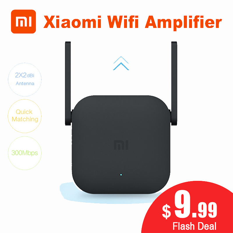 Xiaomi Amplifier Pro Repeater Router Network-Expander 2-Power-Antenna 300M Home Office title=