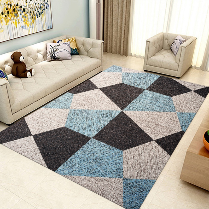 Geometric Modern Carpets Nordic Carpet Bedroom Bedside Blanket