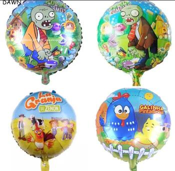 Lucky 200pcs/lot 18 inch Toy Story Party Supplies Foil Balloons Cartoon Hero Woody Buzz Balloon Kids Birthday Party Decorations