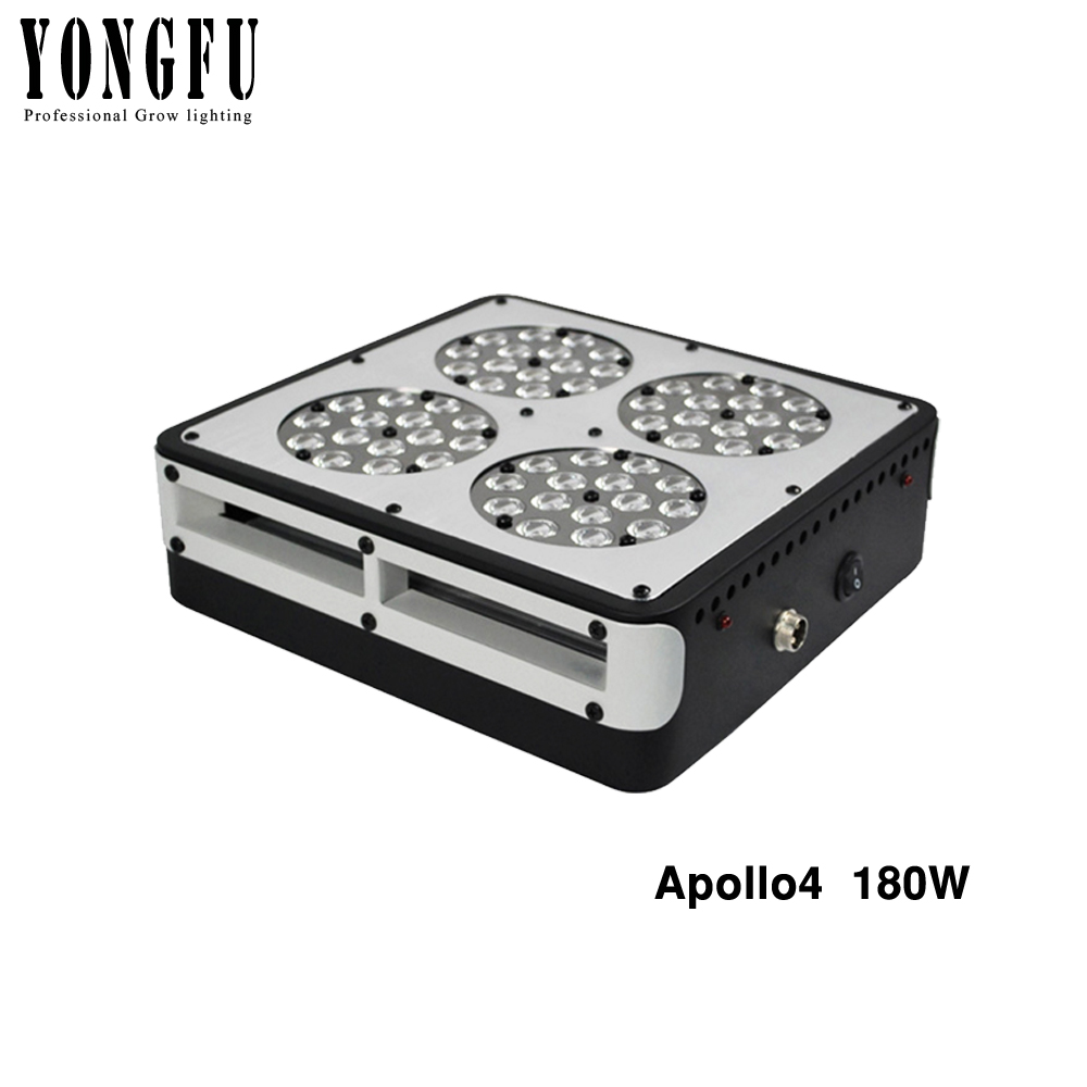 Apollo4 180W LED Grow light 10band Full Spectrum With Exclusive 5W Grow LED For Indoor Plants Hydroponic System High Efficiency