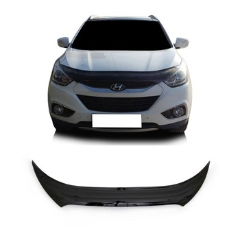 For Hyundai ix35 2011 + Front Bug Shield Hood the Deflectors Guard Bonnet heartbleed bug the openssl vulnerabilty