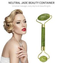 New sale Double Green Emerald Elliptical Roller Massager Eye Neck Health Care Th