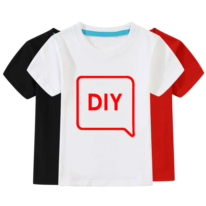 Wholesale 10pcs/lot Cotton Solid Color Short Sleeve T-shirt XS-2XL Summer Tshirt 2 to10 years old kids Boys Girls Children Tops