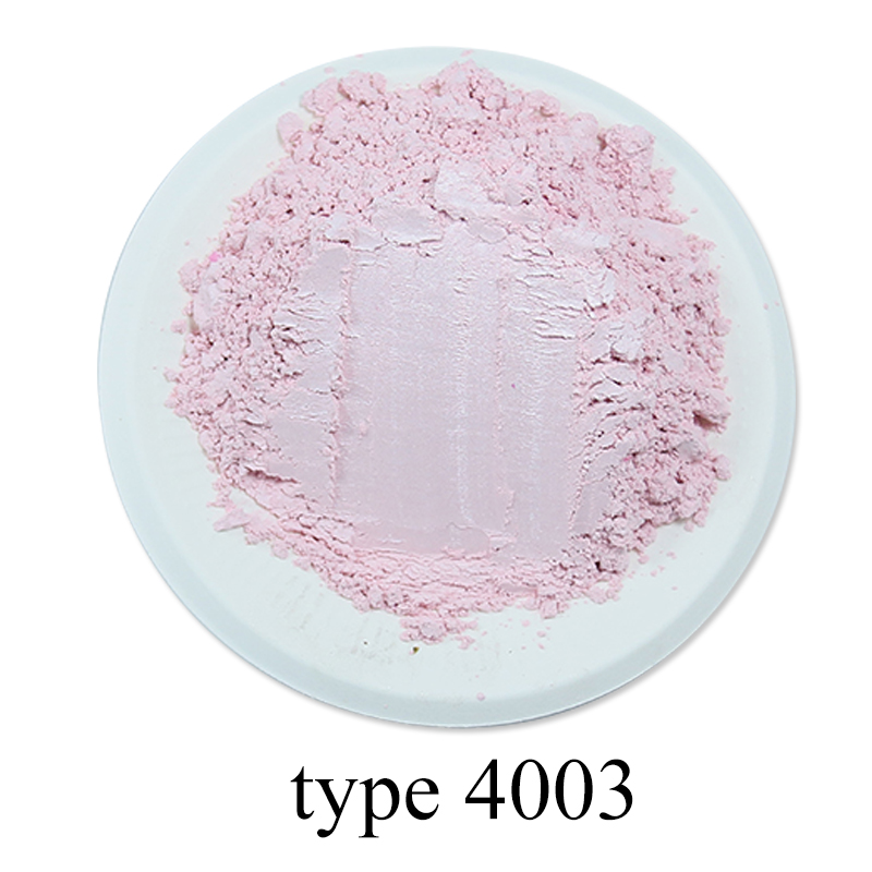 Light Pink Pearl Powder Pigment Mineral Mica Powder DIY Dye Colorant For Soap Automotive Arts Crafts 50g Red Series Mica Powder