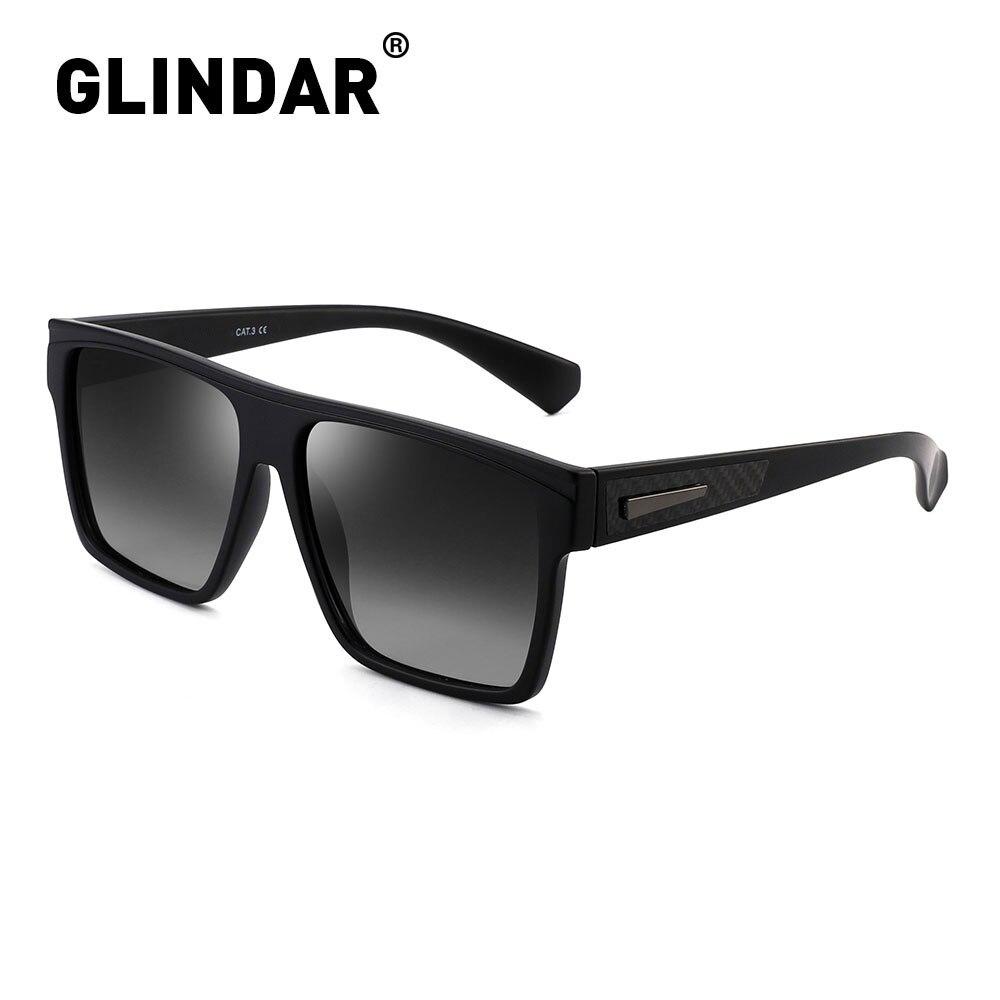 Retro Square Polarized Sunglasses Women Men Brand Design Driving Sun Glasses For Women Men Black
