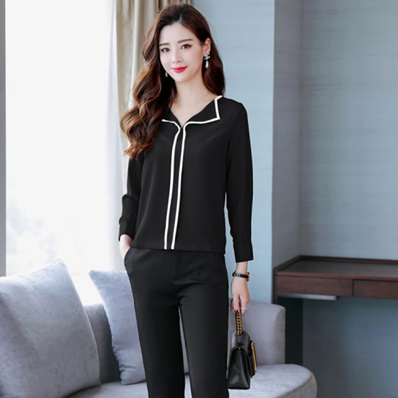 Женская модная рубашка Женская темпераментная с длинными рукавами Свободная Повседневная шифоновая рубашка Топ Feminino Vestido