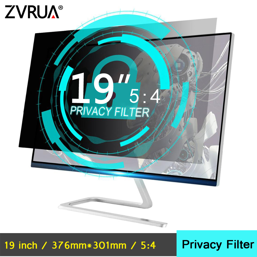 19 Inch (376mm*301mm) Privacy Filter Anti-Glare LCD Screen Protective Film For 5:4 Widescreen Computer Notebook PC Monitors
