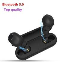 цена на New Top TWS 5.0 Wireless Bluetooth Earphone Headphone 3D Stereo Sport Headsets Wireless Earbuds With Dual Microphone PK airdots