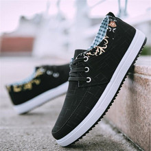 Spring new casual sneakers men's shoes canvas low-top trend breathable shoes mens shoes casual tenis masculino adulto loafers