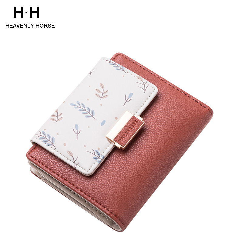 Women Long Wallets Small Fashion Brand PU Purse Women Ladies Card Bag For Women 2019 Clutch Women Female Purse Money Clip Wallet