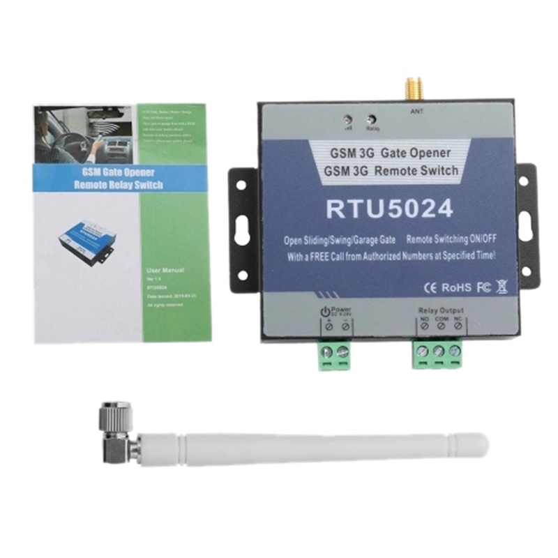GSM Relay SMS Call Remote Controller Gate Opener Switch For Parking System Wirelessly Access Control