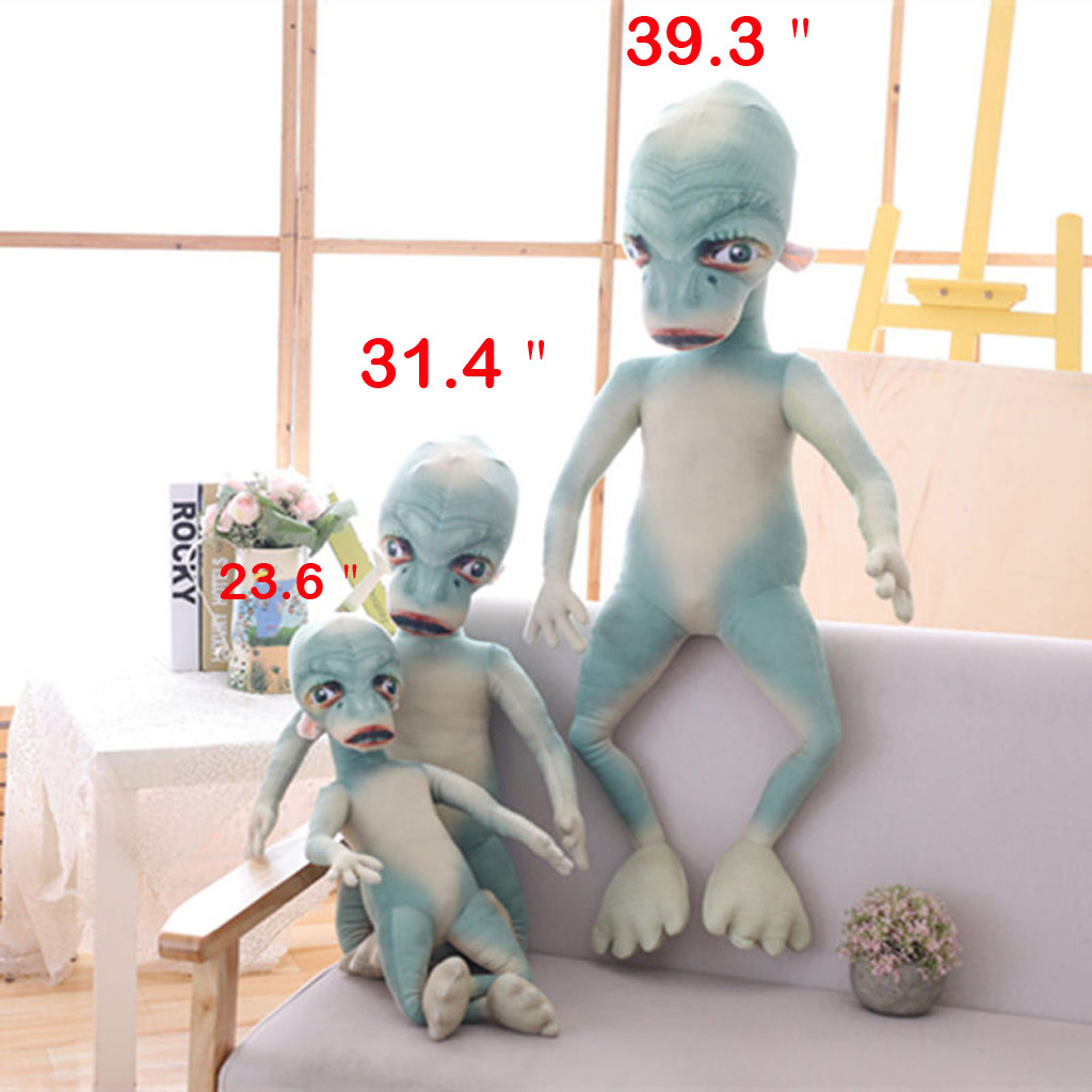 Alien Plush Toy Cotton Soft Stuffed The Extra-Terrestrial Weird Funny Doll Plush toy Baby Birthday Gift(China)