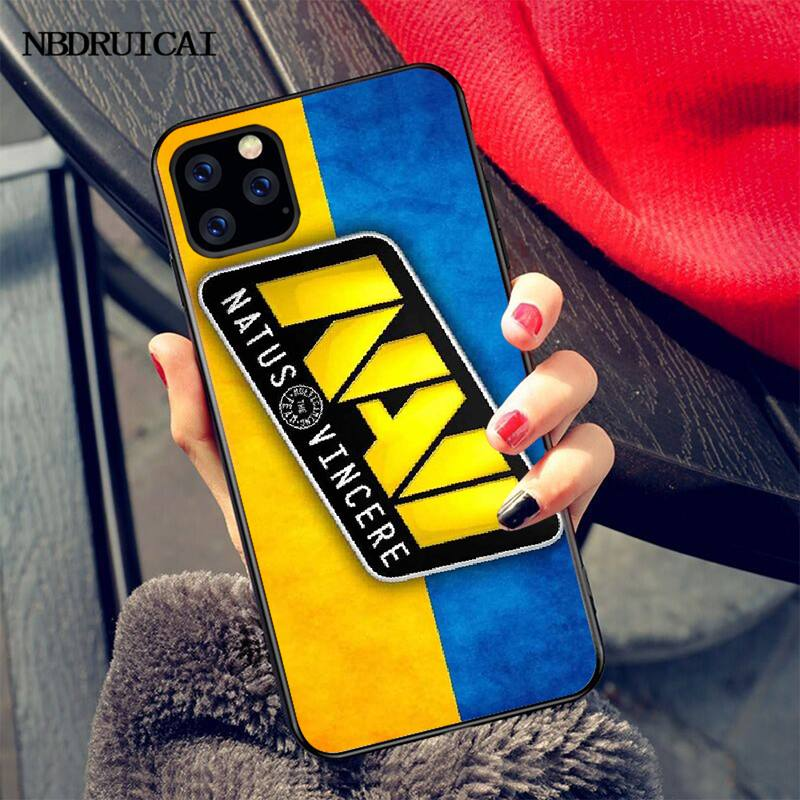 PENGHUWAN Natus Vincere navi Soft Silicone Black Phone Case for iPhone 11 pro XS MAX 8 7 6 6S Plus X 5S SE XR case