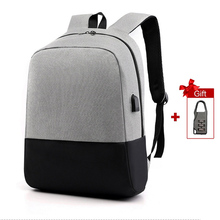 Anti Theft Backpack Women Men Bagpack School Bags For Teenage 15.6 Laptop Backpacks Notebook Schoolbag USB Charger Bag Back Pack unisex laptop backpacks anti theft bags for men s for women oxford usb composite for school trip for teens green shoulder bag