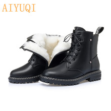 Boots Chain Footwear Platform-Shoes Block-Heel Punk-Style Gdgydh Female Black Autumn