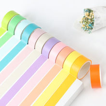 12/Uds Set Color caramelo Kawaii Washi Tape Linda cinta adhesiva decorativa para niños DIY álbum de recortes diario fotos(China)