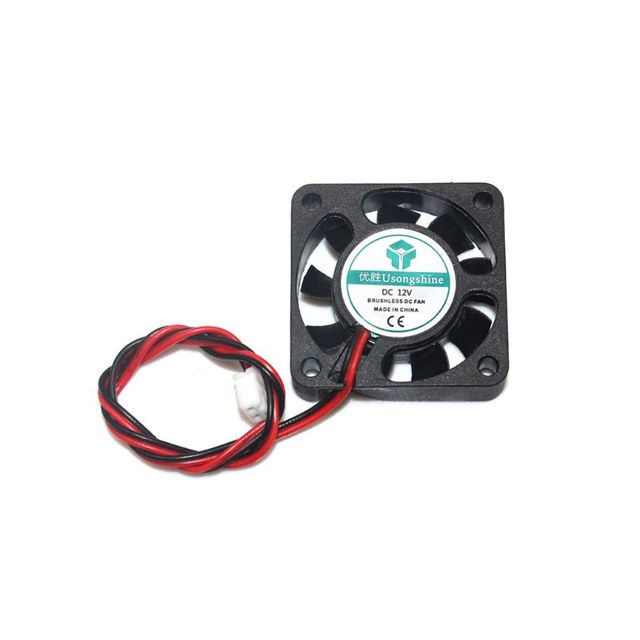 1pc New MINI Brushless DC Cooling Fan 2 wire 12V 0.12A 25x25x7mm 25mm 2507 US