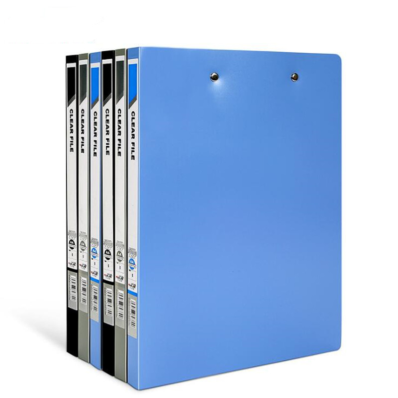 NEW A4 Strong Double Clamp Folder Board File Inset Paper Information Folder Binder