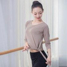 Комплект одежды для балета и тренировок, Женский Классический танцевальный костюм для взрослых, одежда для йоги, тренировок, квадратный танцевальный костюм